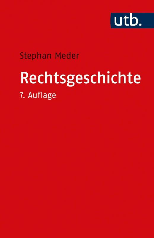 Cover-Bild Rechtsgeschichte