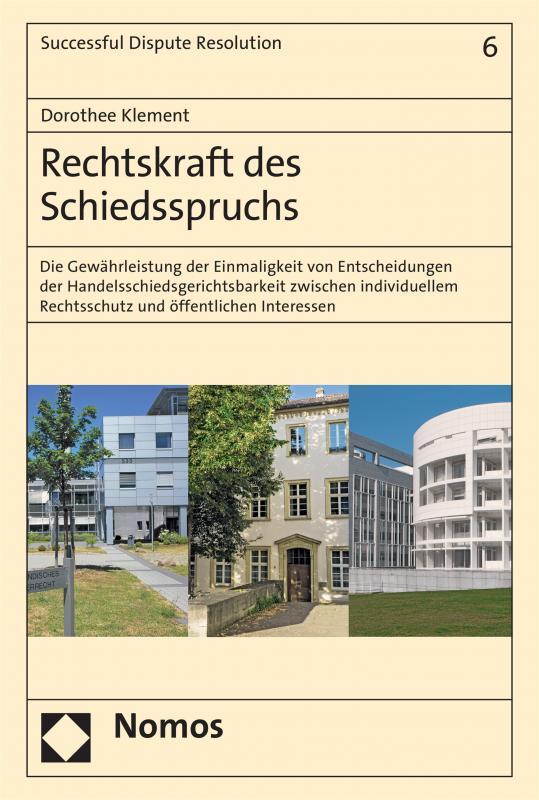 Cover-Bild Rechtskraft des Schiedsspruchs