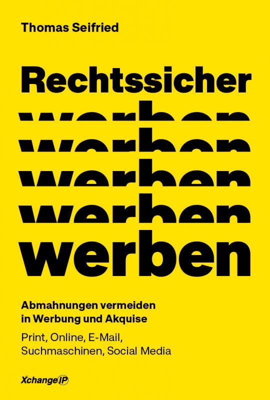 Cover-Bild Rechtssicher werben