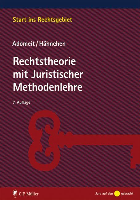 Cover-Bild Rechtstheorie mit Juristischer Methodenlehre