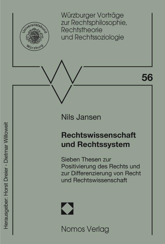 Cover-Bild Rechtswissenschaft und Rechtssystem