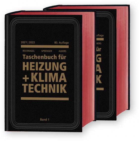 Cover-Bild Recknagel - Taschenbuch für Heizung und Klimatechnik 80. Ausgabe 2019/2020 - Basisversion