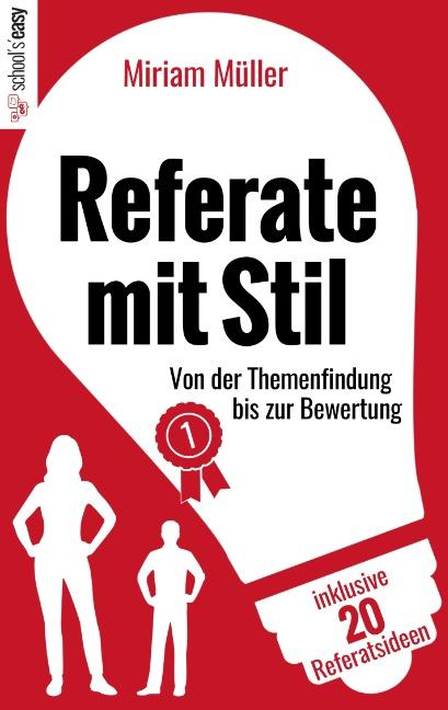 Cover-Bild Referate mit Stil