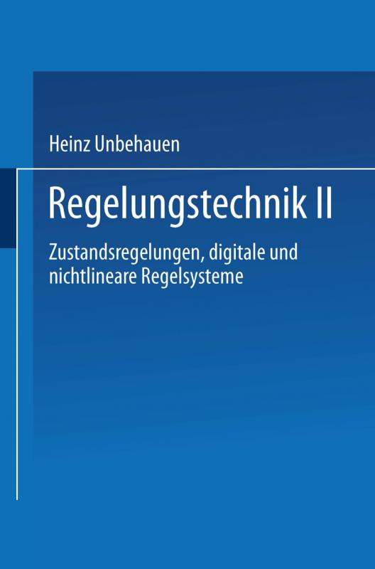 Cover-Bild Regelungstechnik II