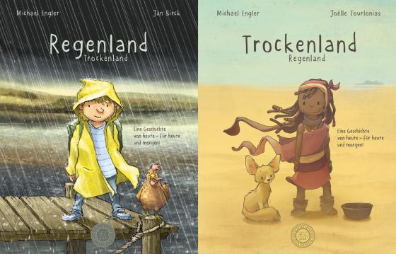 Cover-Bild Regenland + Trockenland - Ein Wendebuch