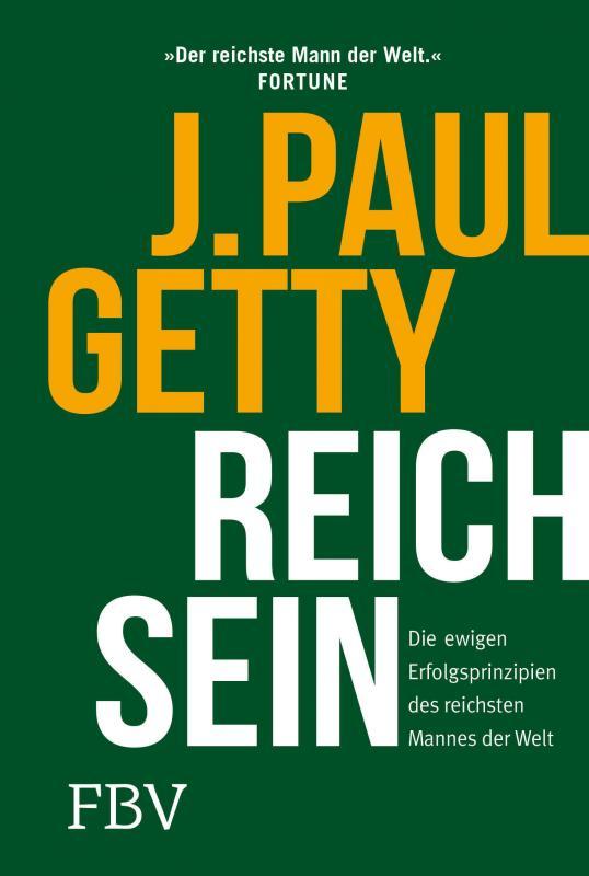 Cover-Bild Reich sein
