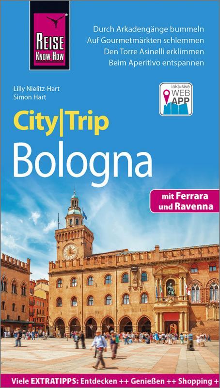 Cover-Bild Reise Know-How CityTrip Bologna mit Ferrara und Ravenna