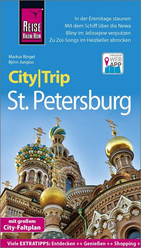 Cover-Bild Reise Know-How CityTrip St. Petersburg