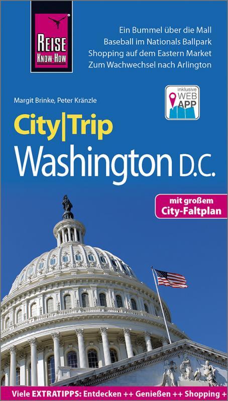 Cover-Bild Reise Know-How CityTrip Washington D.C.