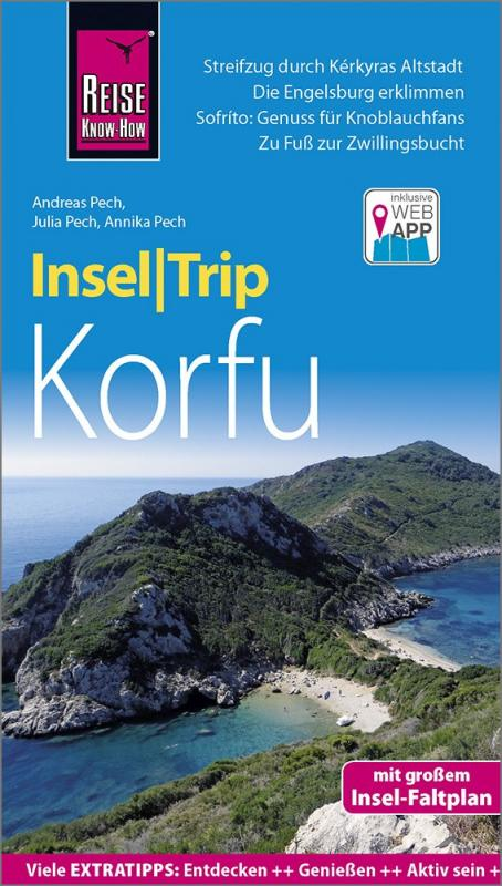 Cover-Bild Reise Know-How InselTrip Korfu