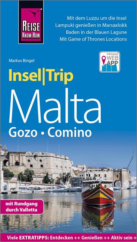 Cover-Bild Reise Know-How InselTrip Malta mit Gozo und Comino
