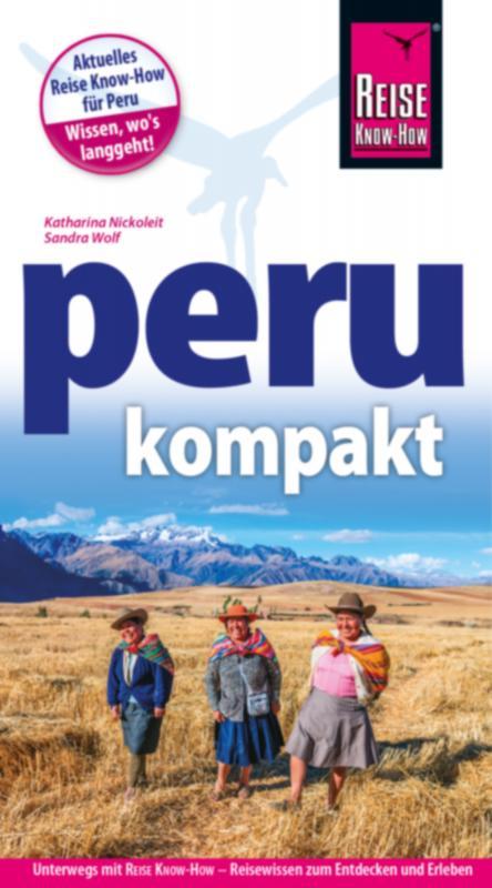 Cover-Bild Reise Know-How Reiseführer Peru kompakt