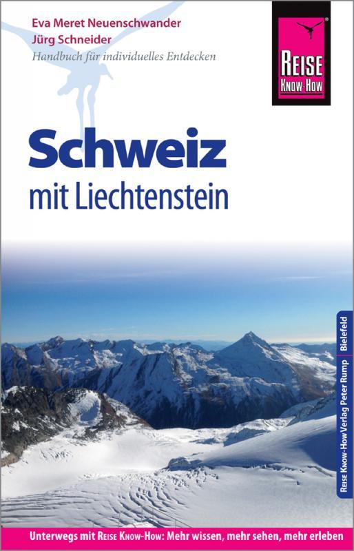 Cover-Bild Reise Know-How Reiseführer Schweiz mit Liechtenstein