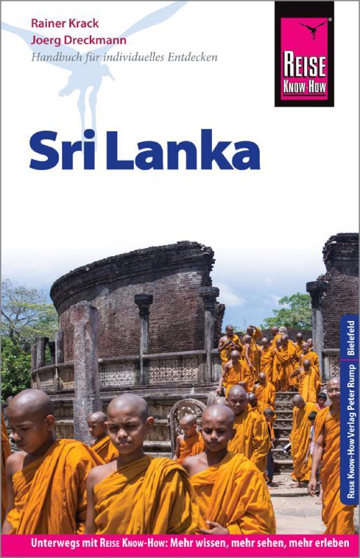 Cover-Bild Reise Know-How Reiseführer Sri Lanka