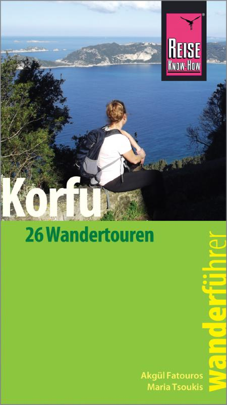 Cover-Bild Reise Know-How Wanderführer Korfu