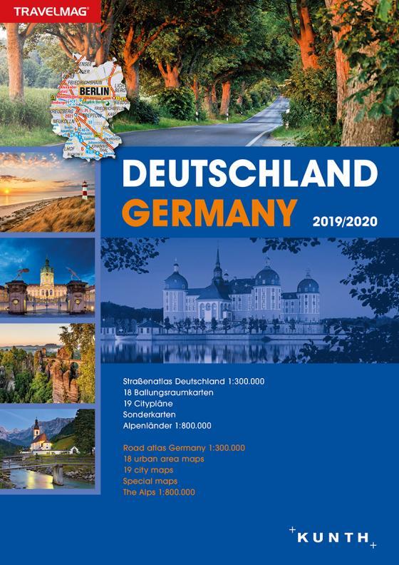 Cover-Bild Reiseatlas Deutschland 2019/2020