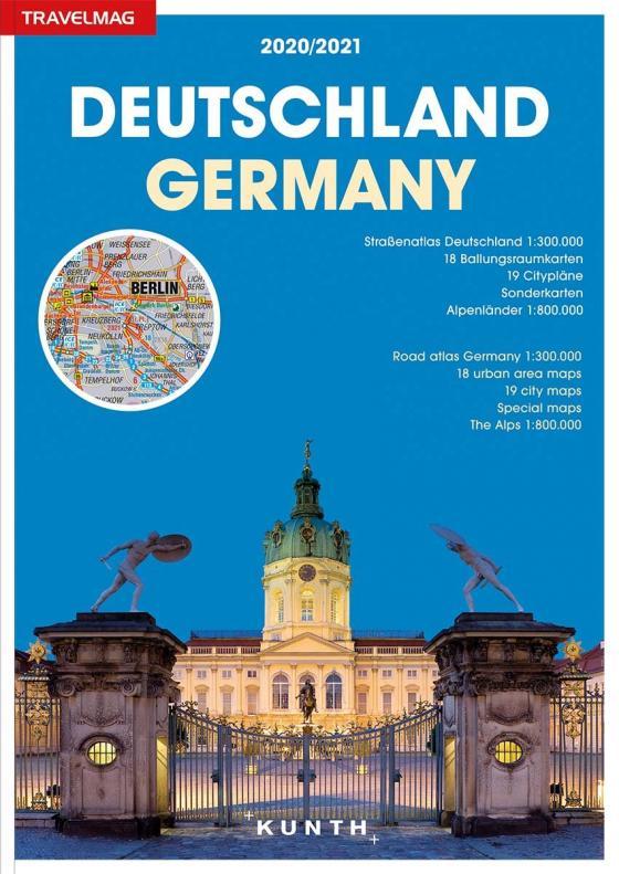 Cover-Bild Reiseatlas Deutschland 2020/2021