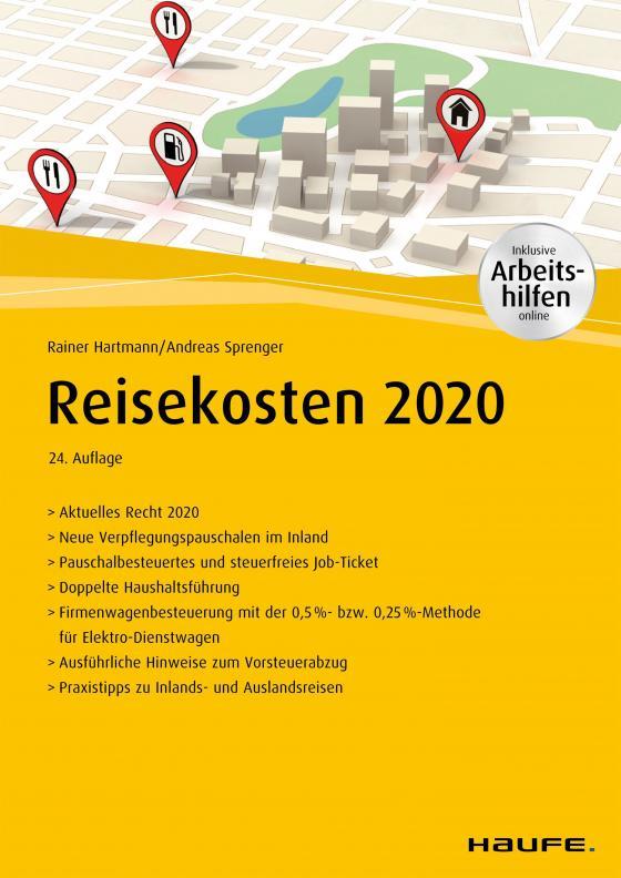 Cover-Bild Reisekosten 2020 - inkl. Arbeitshilfen online