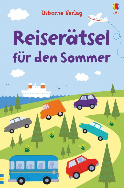 Cover-Bild Reiserätsel für den Sommer