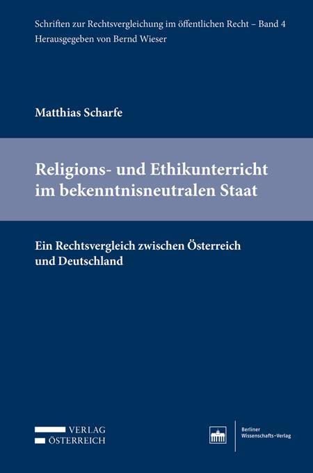 Cover-Bild Religions- und Ethikunterricht im bekenntnisneutralen Staat
