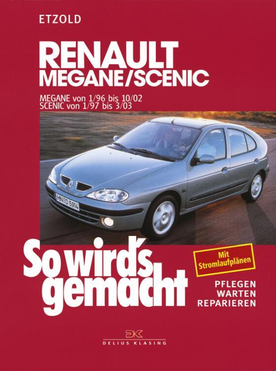 Cover-Bild Renault Mégane 1/96 bis 10/02, Scenic von 1/97 bis 3/03