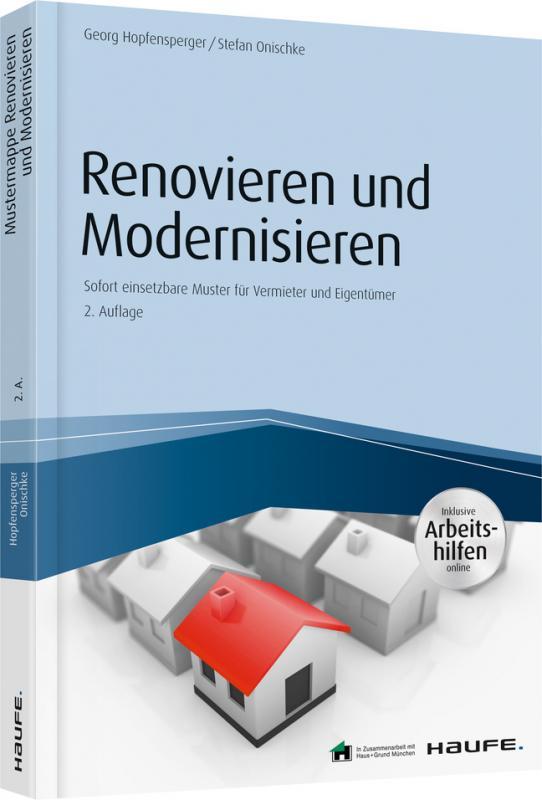 Cover-Bild Renovieren und Modernisieren - inkl. Arbeitshilfen online