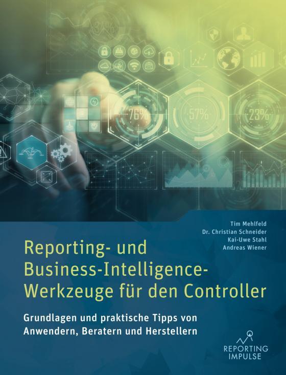 Cover-Bild Reporting- und Business-Intelligence-Werkzeuge für den Controller