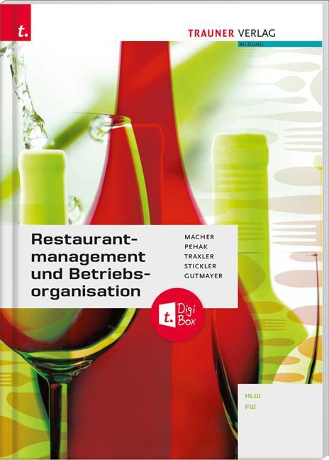 Cover-Bild Restaurantmanagement und Betriebsorganisation + TRAUNER-DigiBox