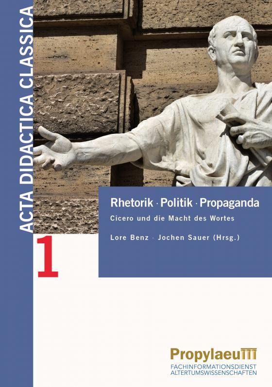 Cover-Bild Rhetorik Politik Propaganda