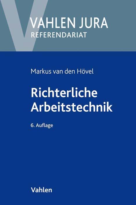 Cover-Bild Richterliche Arbeitstechnik