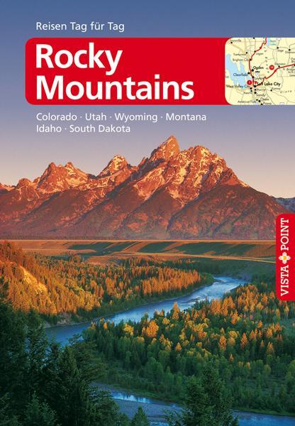 Cover-Bild Rocky Mountains – VISTA POINT Reiseführer Reisen Tag für Tag
