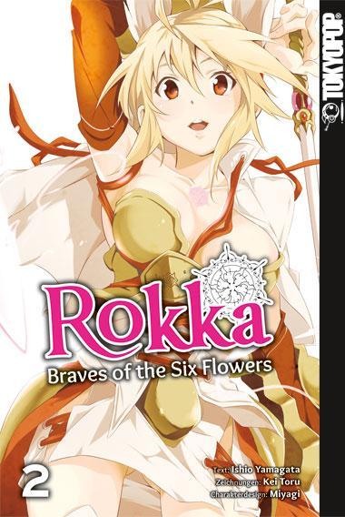 Cover-Bild Rokka - Braves of the Six Flowers 02