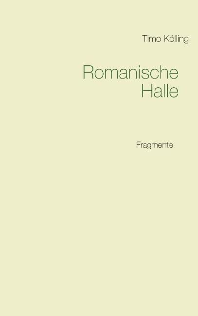 Cover-Bild Romanische Halle