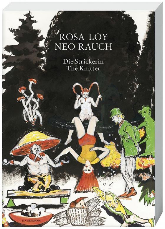 Cover-Bild Rosa Loy, Neo Rauch. Die Strickerin / The knitter