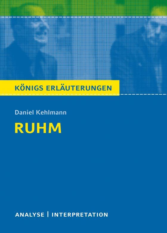 Cover-Bild Ruhm von Daniel Kehlmann.