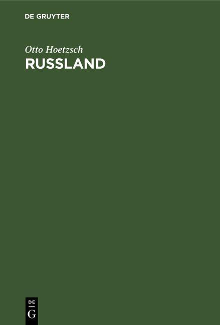 Cover-Bild Rußland