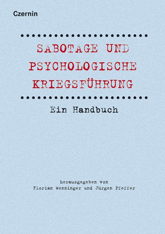 Cover-Bild Sabotage und psychologische Kriegsführung