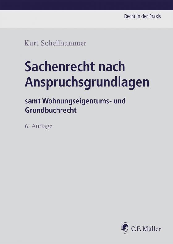 Cover-Bild Sachenrecht nach Anspruchsgrundlagen