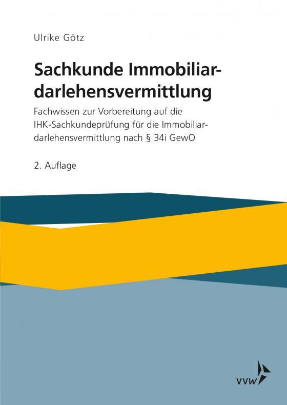 Cover-Bild Sachkunde Immobiliardarlehensvermittlung