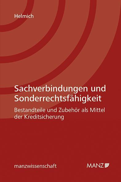 Cover-Bild Sachverbindungen und Sonderrechtsfähigkeit