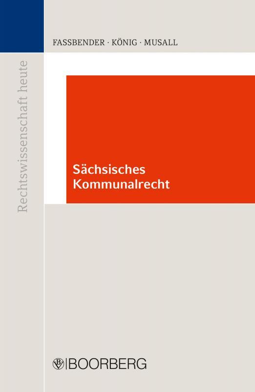 Cover-Bild Sächsiches Kommunalrecht