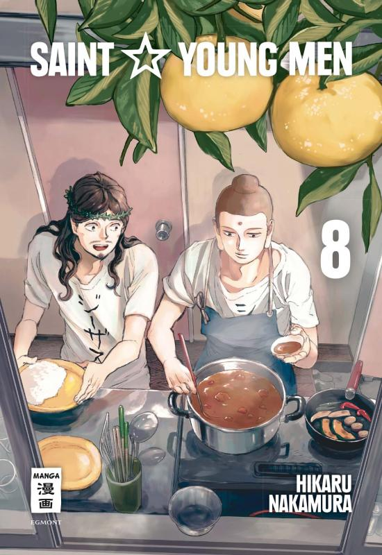 Cover-Bild Saint Young Men 08