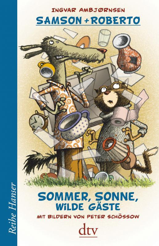 Cover-Bild Samson und Roberto Sommer, Sonne, wilde Gäste