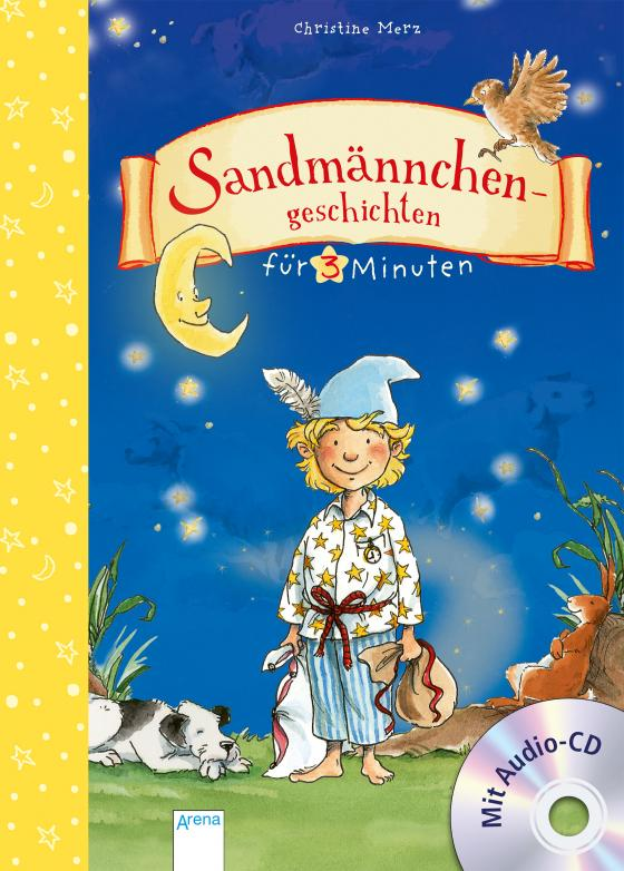 Cover-Bild Sandmännchengeschichten für 3 Minuten