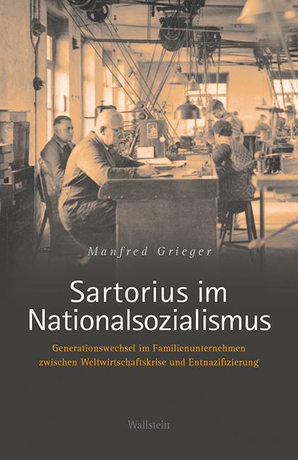 Cover-Bild Sartorius im Nationalsozialismus