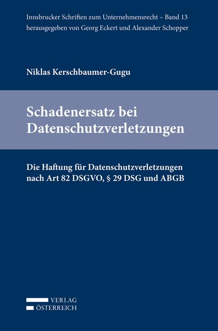 Cover-Bild Schadenersatz bei Datenschutzverletzungen