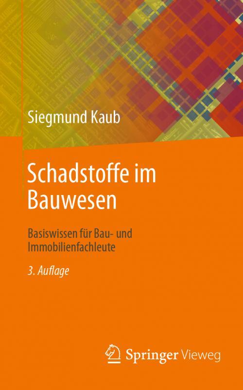 Cover-Bild Schadstoffe im Bauwesen