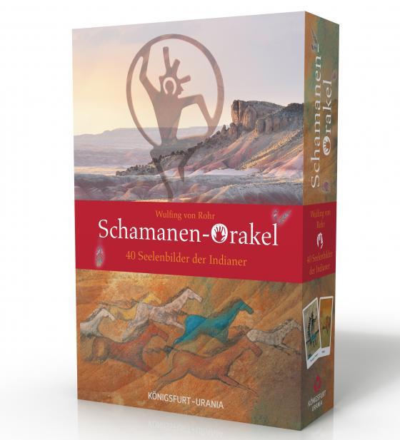 Cover-Bild Schamanen-Orakel. 40 Seelenbilder der Indianer