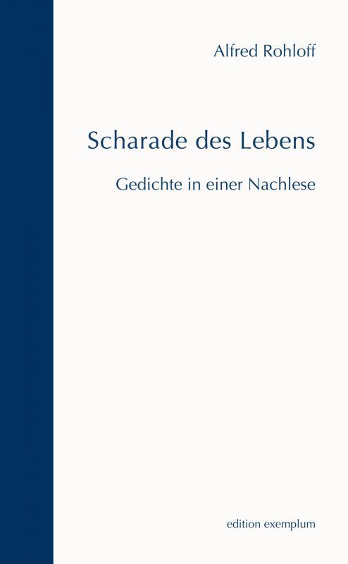 Cover-Bild Scharade des Lebens
