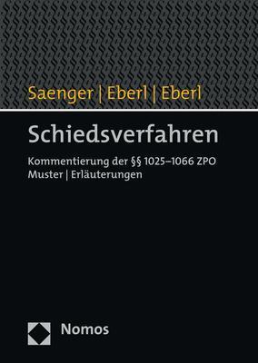 Cover-Bild Schiedsverfahren